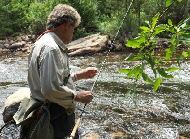 Fly Fishing in Estes Park, Co