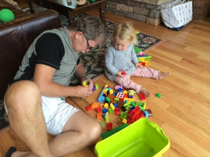 Duplos with Papi