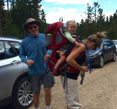 Getting ready to head up Twin Sisters