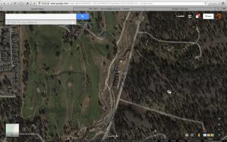 New google map image